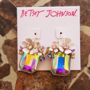 Betsey Johnson dangle earrings